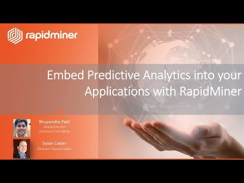 Embed Predictive Analytics into Your Applications with RapidMiner