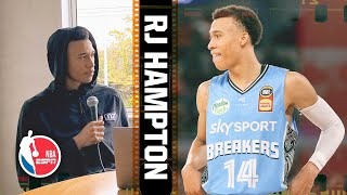 RJ Hampton breaks down film of his NBL rookie season | 2020 NBA Draft Scouting