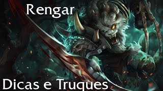 [League Of Legends] Dicas e truques  - Rengar #Episódio 1