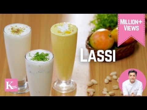 Lassi - Sweet, Mango & Masala | Kunal Kapur Recipes