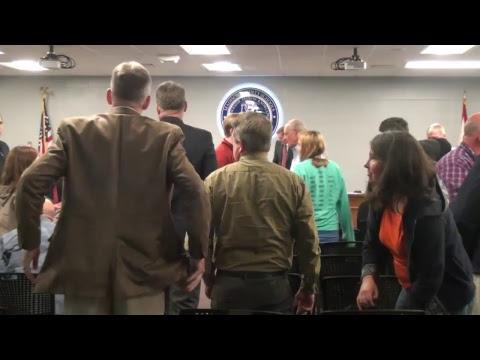 Madison County Schools Regular Session Board Meeting 4/24/2018