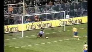 Sveriges  (misslyckade) VM kval till VM 1998 Del 1