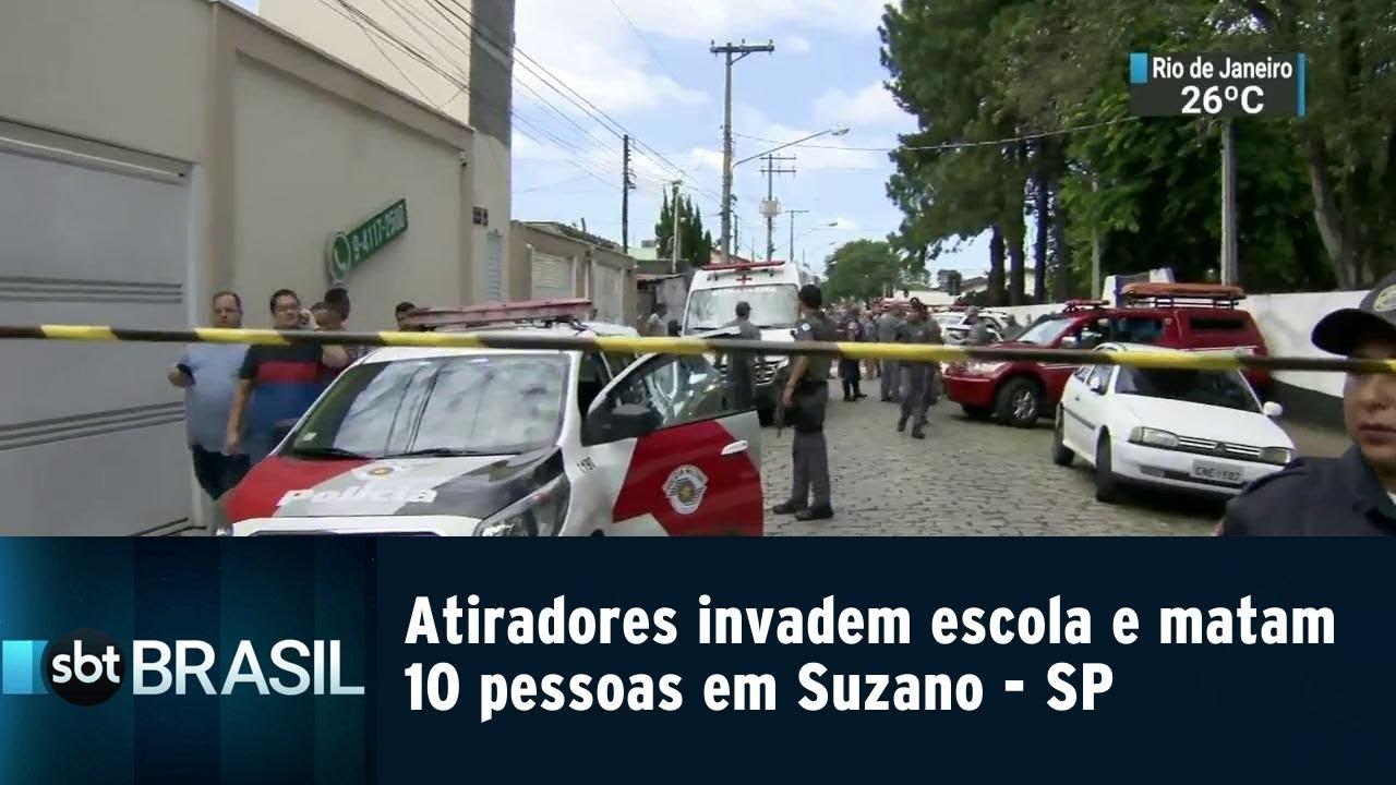 Suzano Sp Image: Atiradores Invadem Escola E Matam 10 Pessoas Em Suzano-SP