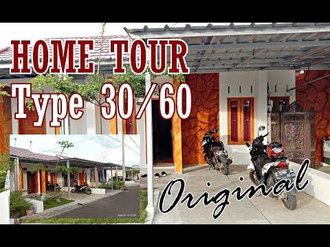 home tour rumah type 30 / 60 masih original - youtube