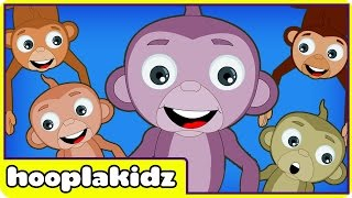 Five Little Monkeys | Nursery Rhymes for Babies and Toddlers | New Version HD