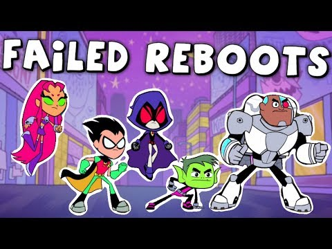 4 Cartoon Reboots That FAILED!