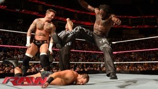 CM Punk & R-Truth vs. Ryback & Curtis Axel: Raw, Oct. 7, 2013