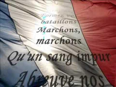 La Marseillaise par Michel Sardou