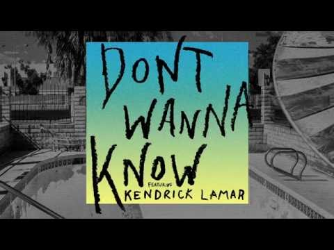 Maroon 5   Don't Wanna Know Audio ft ...