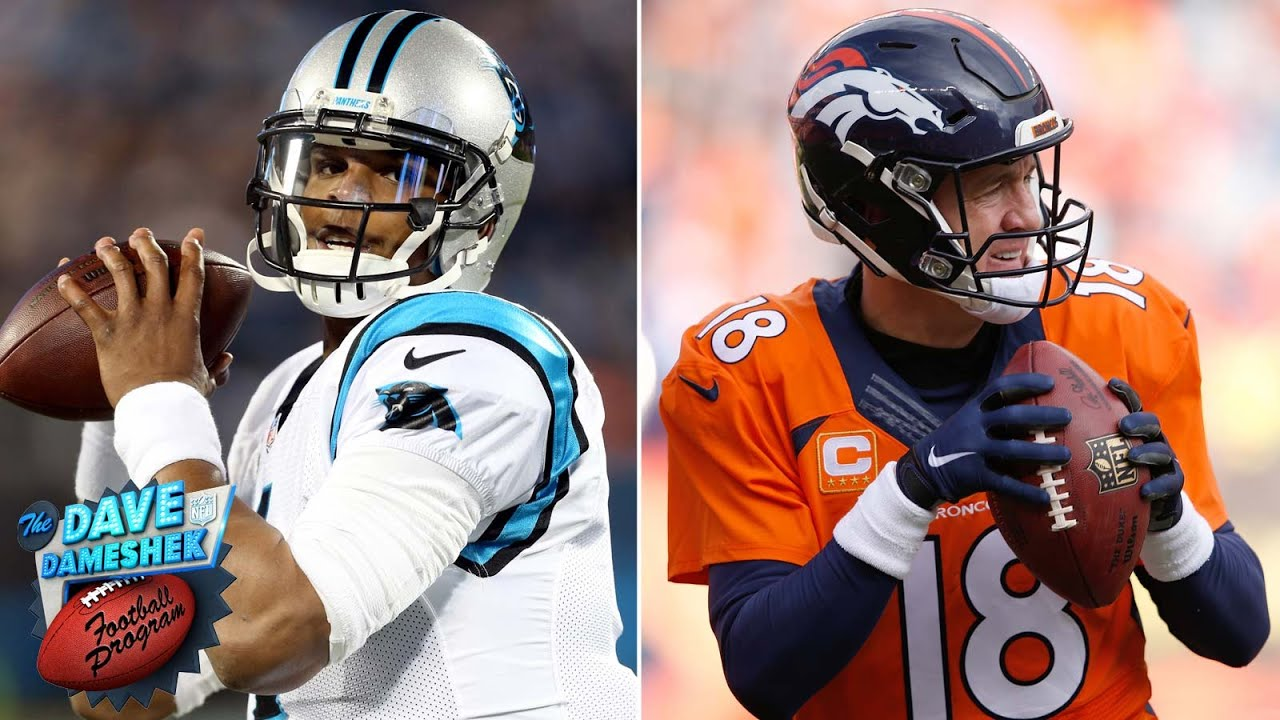 98d86439f Cam Newton vs Peyton Manning  Battle of the Ages