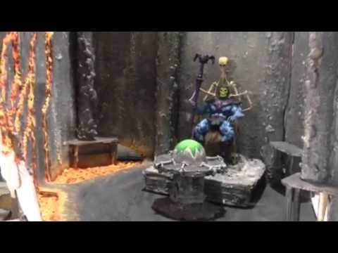 custom snake mountain diorama youtube