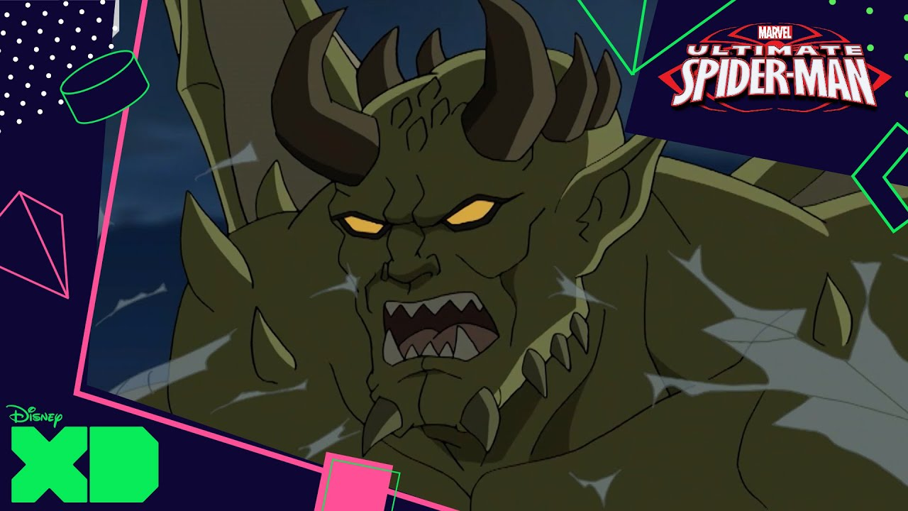 ultimate spiderman vs the sinister six the goblin