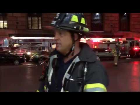 FDNY BOX 61 - FDNY RESPONDING TO & ON SCENE OF 2ND ALARM  FIRE AT FEDERAL RESERVE BANK OF NEW YORK.