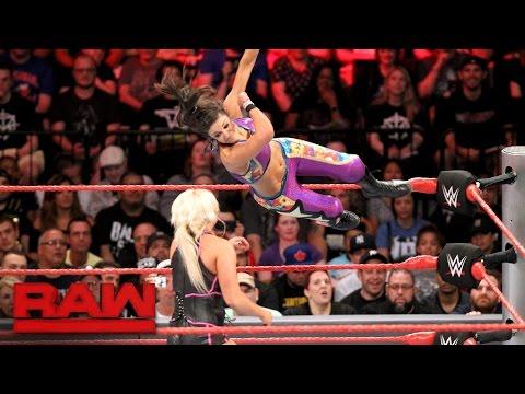 Bayley vs. Dana Brooke: Raw, Aug. 22, 2016