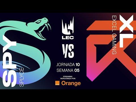 SPLYCE VS EXCEL | LEC | Spring Split [2019] League of Legends thumbnail