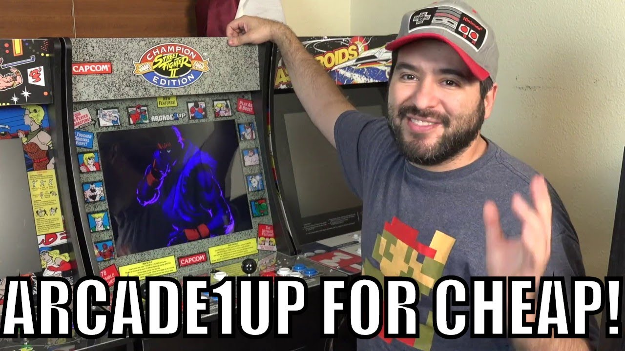 Repeat I Got A Street Fighter 2 Arcade1Up For CHEAP! by 8