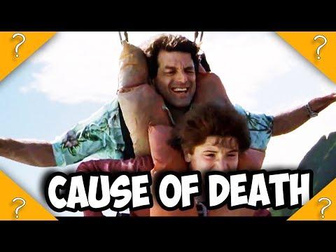 How did BEN DIE in Jurassic Park 3