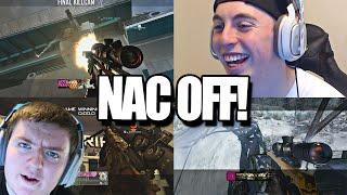 HITTING NAC TRICKSHOTS ON EVERY COD! (BO2, BO1 & MW2 Nac Off ft. Nudah, Crude)