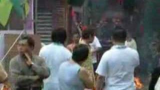 Ba jia jiang parade & temple ceremony