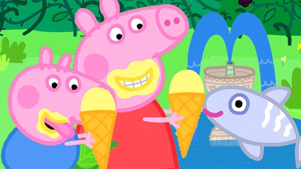 Eis essen am Fischteich 🍦 Cartoons für Kinder | Peppa Wutz Neue Folgen
