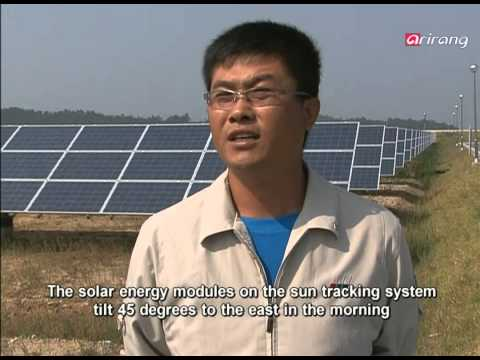 All about Asia-The world′s largest solar power plant in Shinan,Korea   세계에서 가장 큰