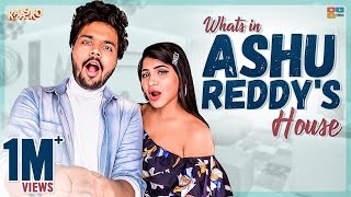 What's in ASHU REDDY's HOUSE? || Kaasko || Tamada Media