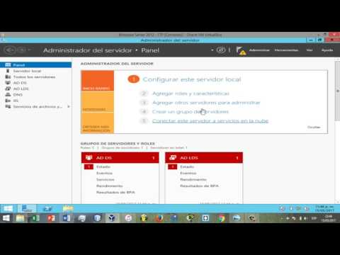 Windows Server 2012 - Instalación de LDAP (AD LDS)