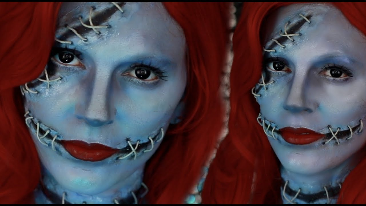 download sally nightmare before christmas halloween makeup jordan hanz recreation better off - Sally From Nightmare Before Christmas Makeup