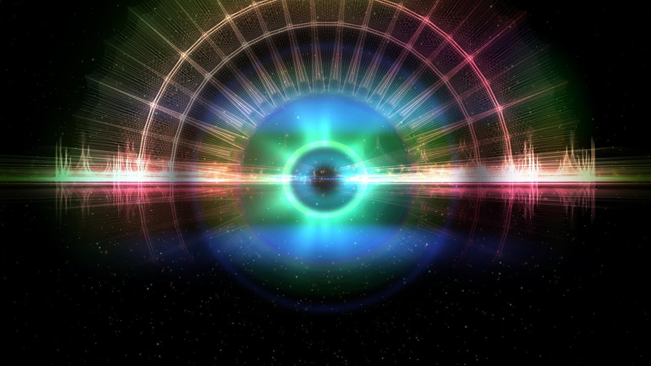 4K Deep Eye Of Space Moving Background Wallpaper Loop Video 2160p