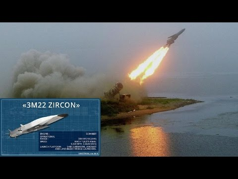 Russia Testing 8 Mach Zircon Hypersonic Missile