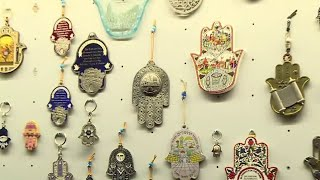 Hamsa Art Spanning Across Middle East Cultures