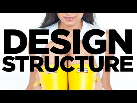 Graphic Design Tutorial: Design structure with grids