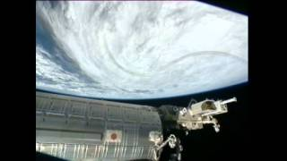 Amazing Tropical Cyclone Sandy from Space (Hurricane Sandy)