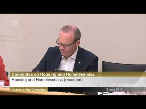 Discussions With Minister for Housing Simon Coveney Part 3