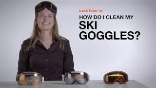 jak prawidłowo dbać - czyścić gogle narciarskie