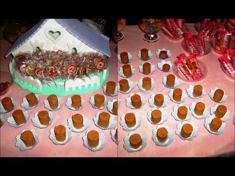 Fa a voc mesmo mesa de doces para festa de noivado youtube - Espejos de mesa baratos ...
