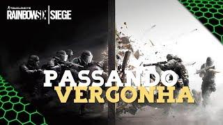 RAINBOW SIX SIEGE - PASSANDO VERGONHA NA PRIMEIRA VEZ!!! #1