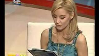 Sexy TV announcer ProTV Romania