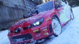 ラジコンPV インプレッサWRX STi 雪上 タミヤDF-03Ra