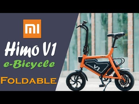 Xiaomi Himo V1 Foldable Electric Bicycle Launched   Features, Price And Availability   InfoTalk