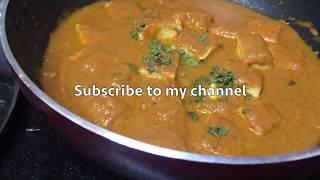 Paneer Butter Masala Recipe   Restaurant Style Paneer Makhani   Paneer Butter Masala  