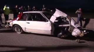 Big Baller Coupe Crash (Street Outlaws) - OKC No Prep