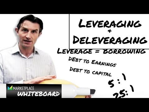 Leveraging and deleveraging