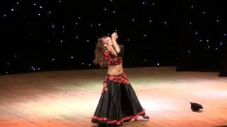 Show bellydance - Gypsy stylization