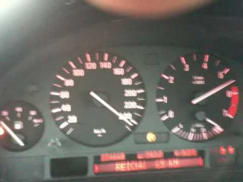 Acceleration Test With A Bmw 750 E38