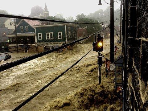 Catastrophic Flooding In Ellicott City, Maryland