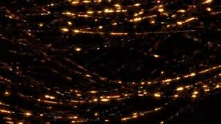 Abstract Background Video   Golden ParticlesStrings   Background Loop 4K