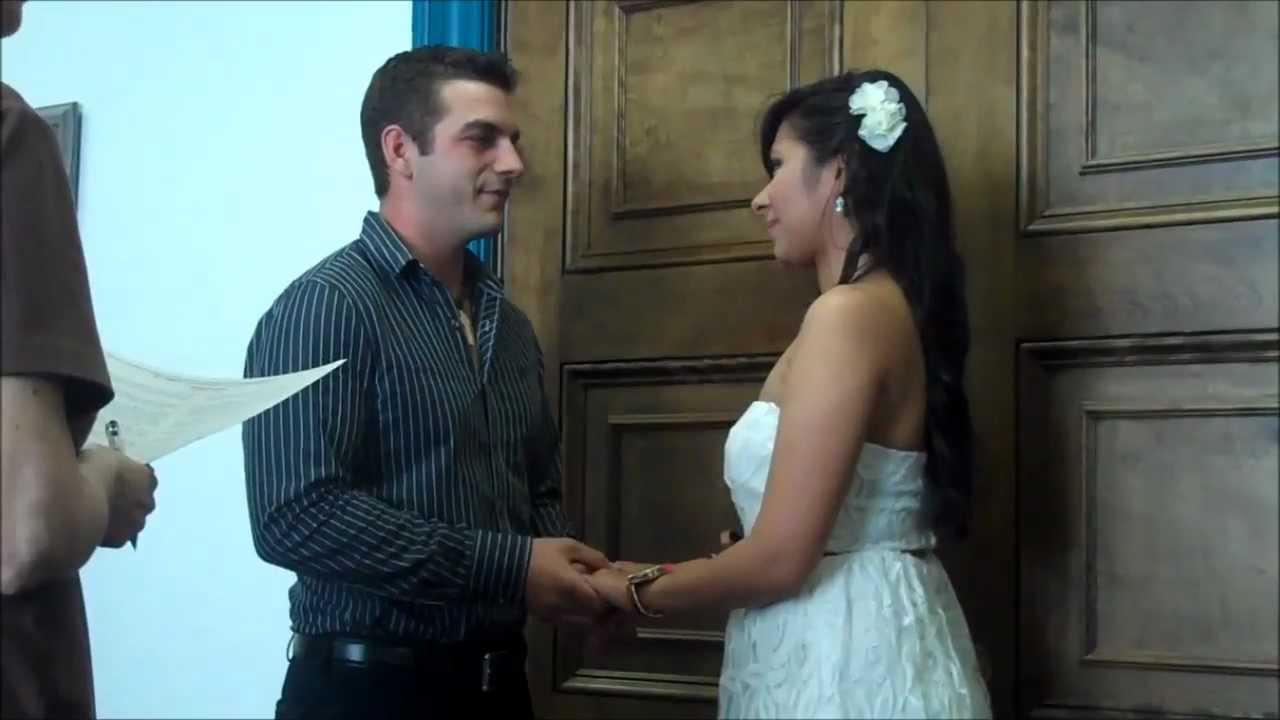 Alistate conmigo mi boda civil youtube for Como organizar una boda civil