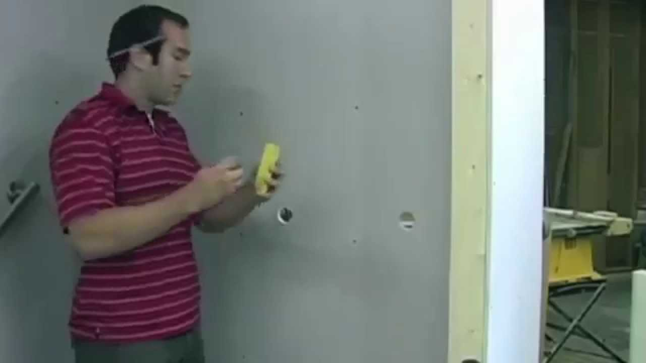 Install a grab bar with the Ghostud™ - the only wall anchor that ...