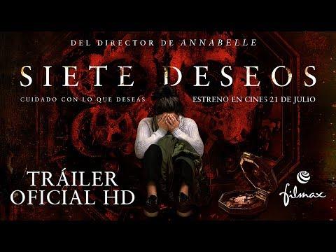 SIETE DESEOS. Trailer oficial español. Ya en cines.